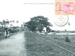 Chemiu de fer de la Guinee Conakry Guinee