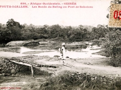 Fouta Djallon Les Bords du Bafing au Pont de Sokotoro