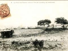 Le Pont de Tumbo reliant I'lle de Conakry au continent