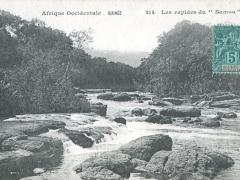 Les rapides du Samou