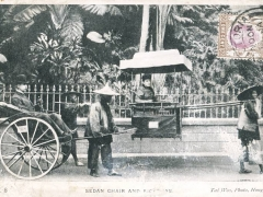 Sedan Chair and Rickshaw