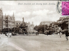 Bombay Floral Fountain and Hornby Road