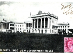 Calcutta Side View Government House