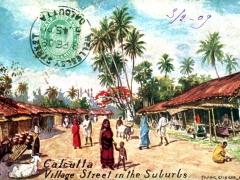 Clacutta Village Street