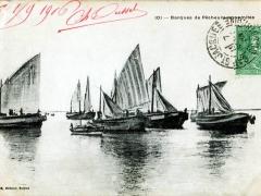 Barques de Pecheurs annamites