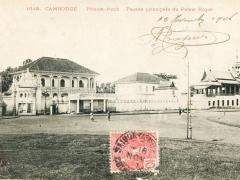 Cambodge Phnom Penh Facade principale du Palais Royal