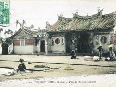 Cochinchine Cholon Pagode des Cantonnais