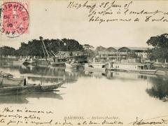 Haiphong Schiffe Fluss