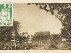 Rachgia La pagode Cambodgienne