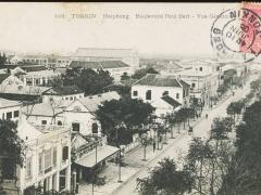 Tonkin Haiphong Boulevard Paul Bert Vue General