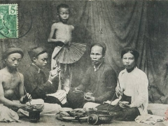 Tonkin Hanoi Le Repas