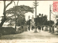 Tonkin Hanoi Pagodon du Petit Lao