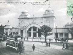 Dublin Irish International Exhibition Main Entrance