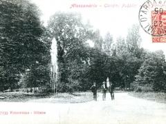 Alessandria Giardini Pubblici La Fontana