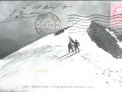 Alpes de Savoie Sommet da la Dent Parrachee