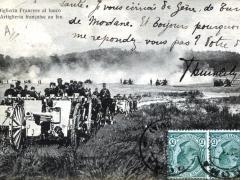 Artiglieria Francese al fuoco