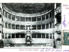 Badia Polesine Interno del Teatro Sociale