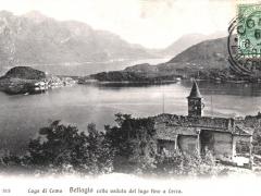 Bellagio Lago di Como colla veduta del lago fino a Lecco
