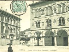 Belluno Angola Palazzo della Prefettura e Municipia