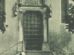 Belluno Artistica Portale dell'Antica Chiesa di S Stefano