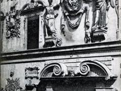 Ferrara Palazzo Bentiuoglio Dettaglio