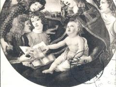 Firenz R Galleria Uffizi L'incoronazione della Vergine Botticelli