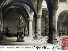 Firenze Bargello Artrio de cortile