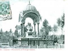 Firenze Cascine Monumento al Pricipe Indiano