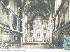 Firenze Certosa interno della Chiesa