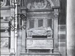 Firenze Chiesa S Croce Monumento di Leonardo Brumi Rosselino