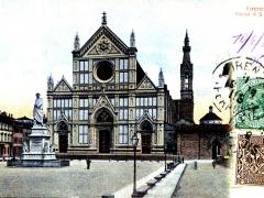 Firenze Chiesa di S Croce