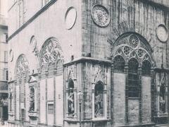 Firenze Chiesa di S Michele La Parte Inferiore dai Lati Sud Est