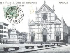 Firenze Chiesa e Piazza S Croce