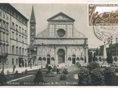 Firenze Chiesa e Piazza S Maria Novella