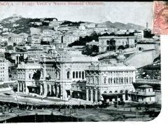 Genova Piazza Verdi e Nuova Stazione Orientale
