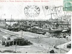 Genova Ponte Federico Guglielmo Stazione Marittima