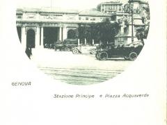 Genova Stazione Principe e Piazza Acquaverde