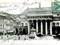 Genova Teatro Carlo Felice