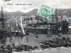 Genova Veduta dal Molo Vecchio