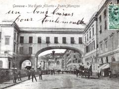 Genova Via Carlo Alberto Ponte Morosini