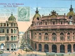 Genova Via XX Settembre La Nuova Borsa