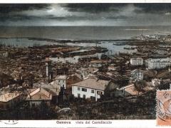 Genova vista dal Castellacco