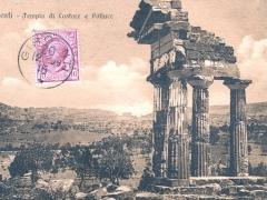 Girgenti Tempio di Castore e Polluce