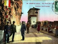 Grimaldi Sul Ponte San Luigi Frontiera Italo-Francese