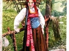 In Valsesia Costume di Boccioleto Tracht