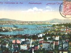 Militärpost Constantinople Vue Panoramique du Port