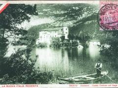 La Nuova Italia Redenta Trento Dintorni Castel Toblino col Lago
