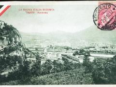 La Nuova Italia Redenta Trento Panorama