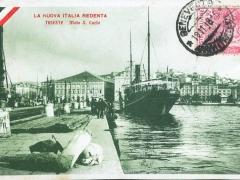 La Nuova Italia Redenta Trieste Molo S Carlo