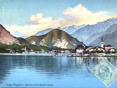 Lago Maggiore Baveno ed il Monte Leone